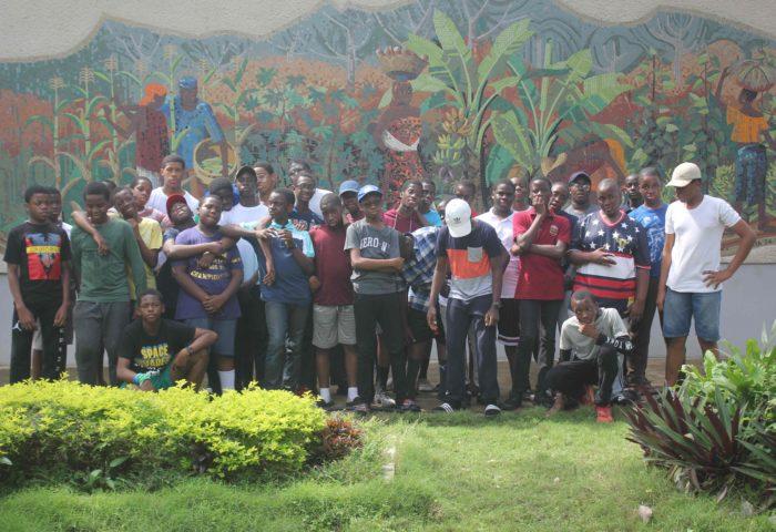 Leadership Training: Boys Visit IITA