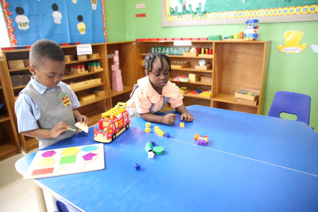 Montessori teaching in Nigeria