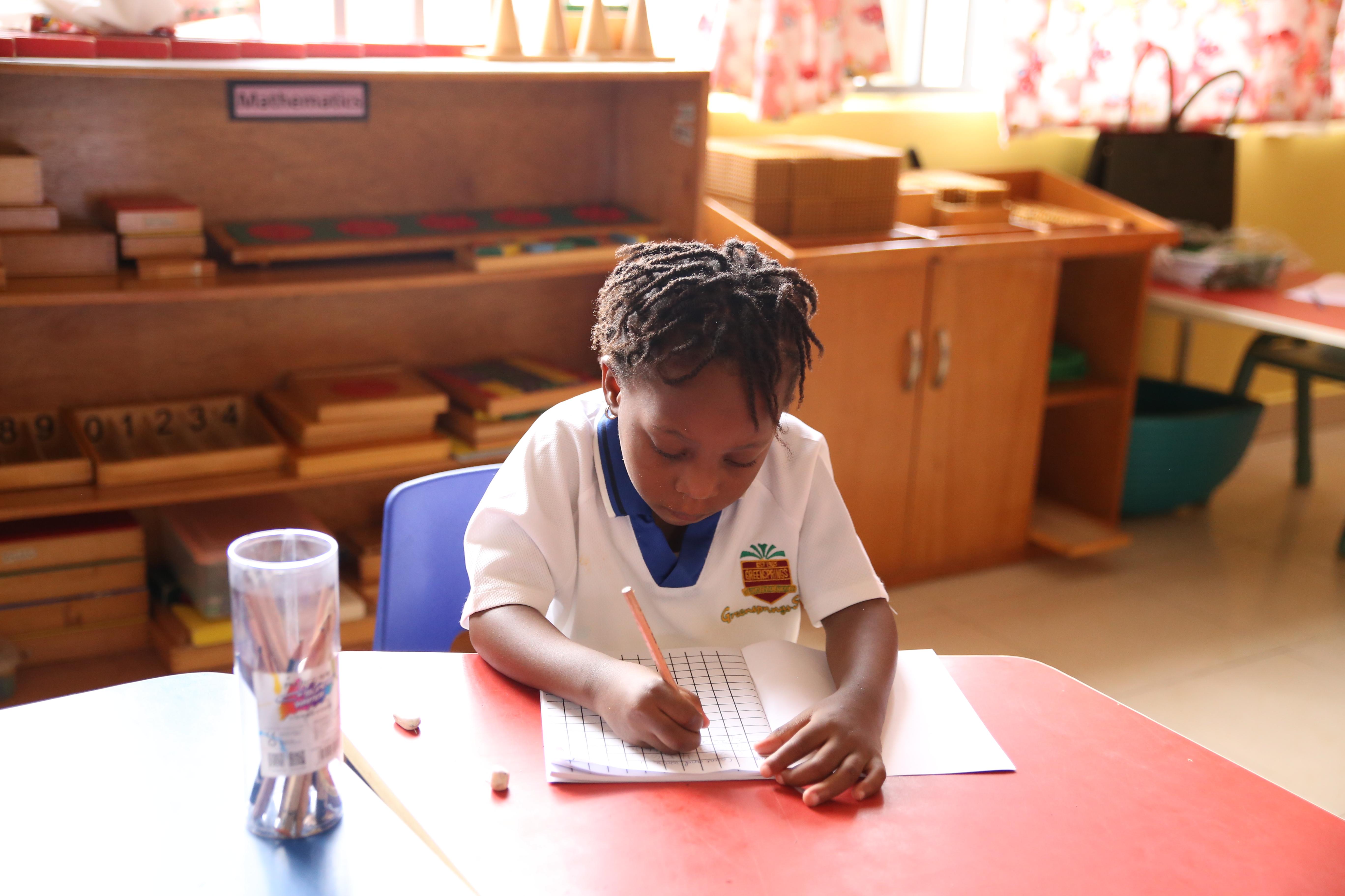 Montessori classroom in Nigeria