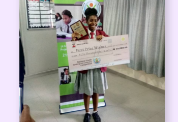Greensprings student wins public speaking competition