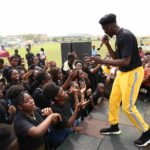 Mr Eazi shows up at IB Benefit Concert