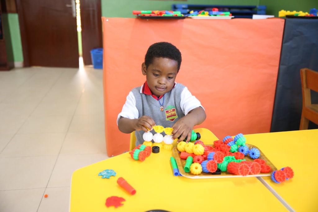 Free play at Greensprings School