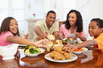 Family bonding is a good habits for kids to learn.