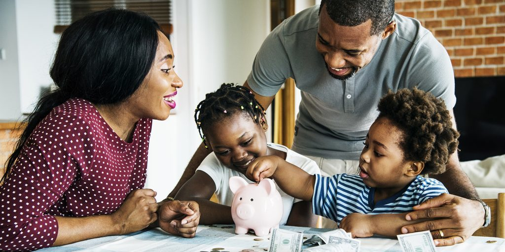 Money management is a good habit for kids to learn.