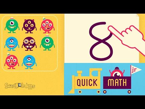 Quick Math JR best math app for kids.