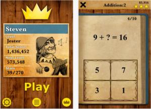 King of maths best app for kids.