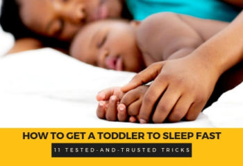 How to Get a Toddler to Sleep Fast