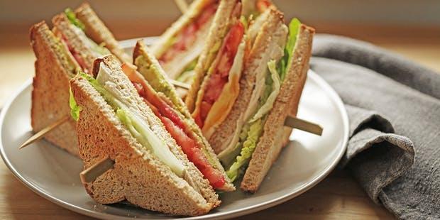 Club Sandwiches best breakfast option