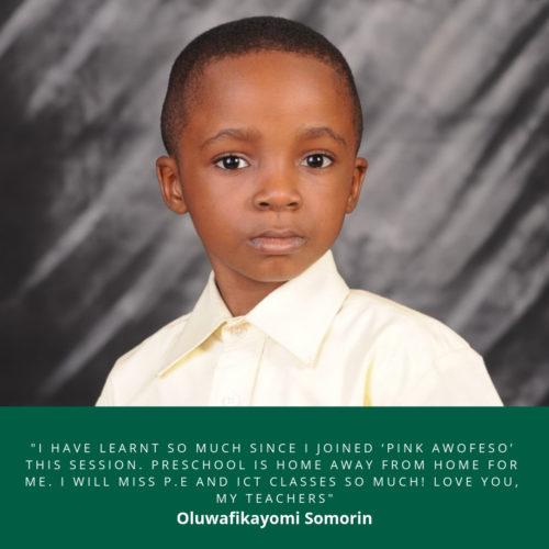 Oluwafikayomi Somorin