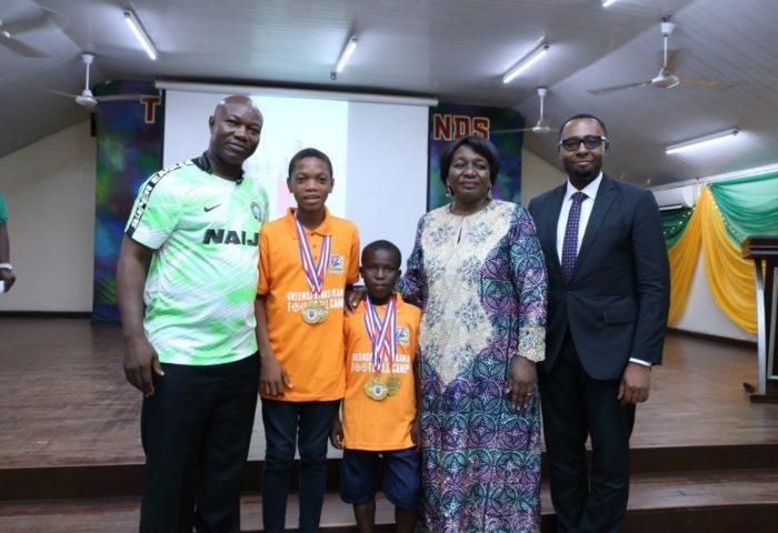 Quadri Araromi And Light Chijioke Win Sports Scholarship at GKFC 2019