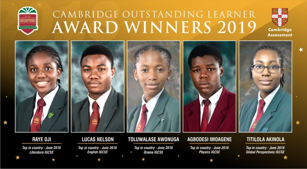 Our 2019 Outstanding Cambridge Learner Awards winners share