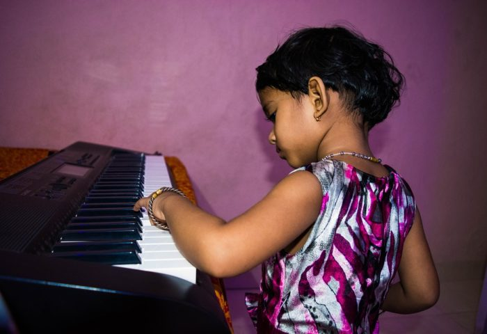 talented child