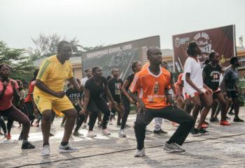 Greensprings-School-lagos-community-connect-dance-aerobics-stress-burnout