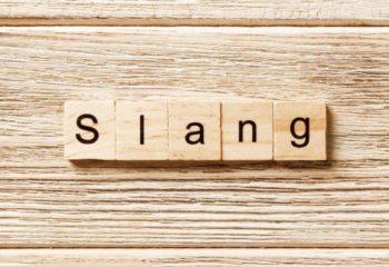 teenage slangs