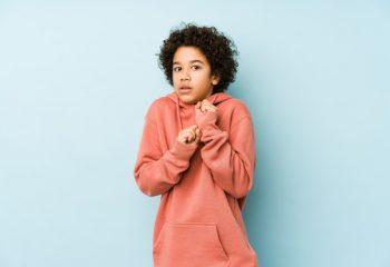 anxiety in children under 10