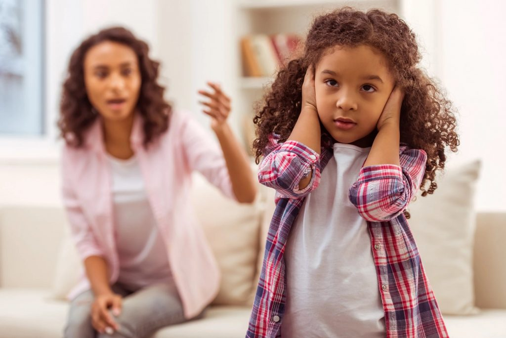 psychological effects of yelling