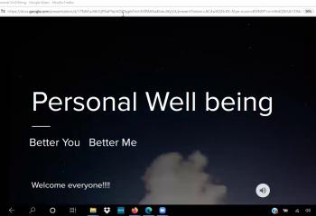 Pesonal Wellbeing