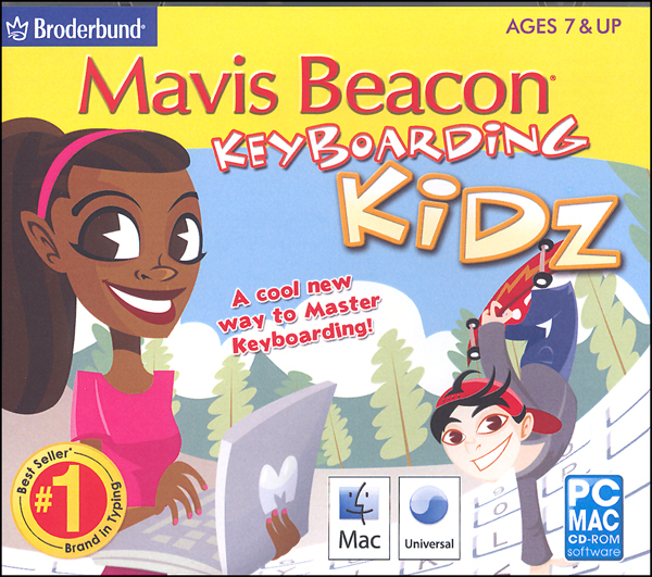 Mavis Beacon's Keyboarding Kidz
