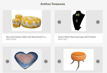 Anthos Treasures Online Store