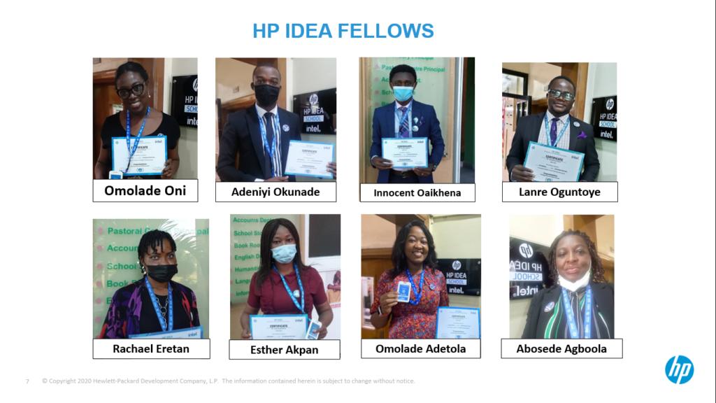 HP IDEA FELLOWS